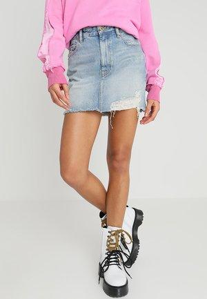 DE-ELLE SKIRT - Denimová sukně - indigo