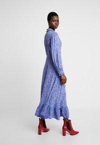 Ghost - ANOUK DRESS - Abito a camicia - blue - 3