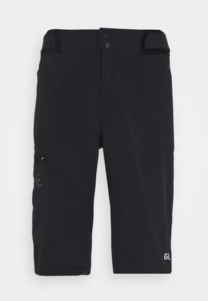 WEAR PASSION SHORTS MENS - Korte sportsbukser - black