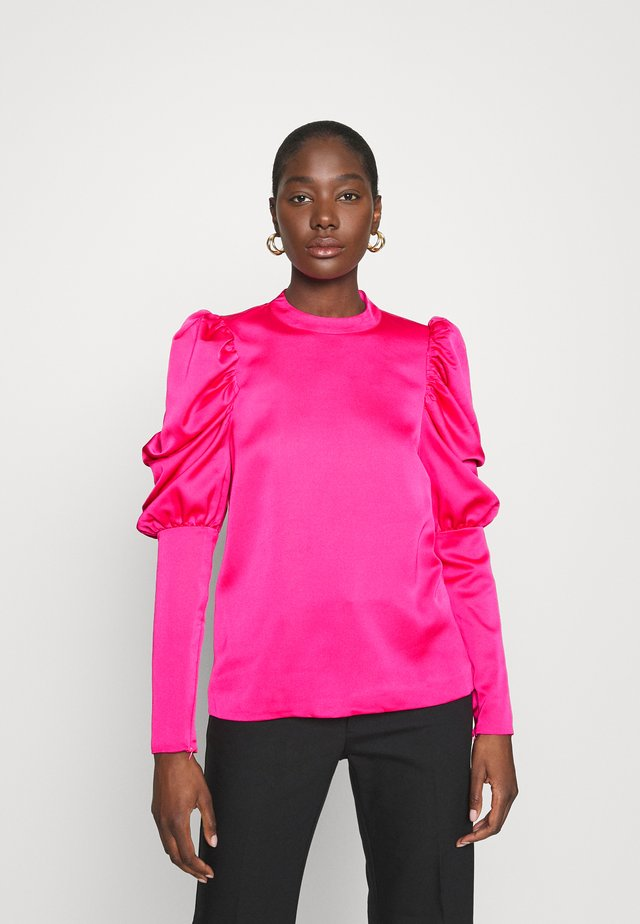 ALMACRAS BLOUSE - Bluser - shocking pink