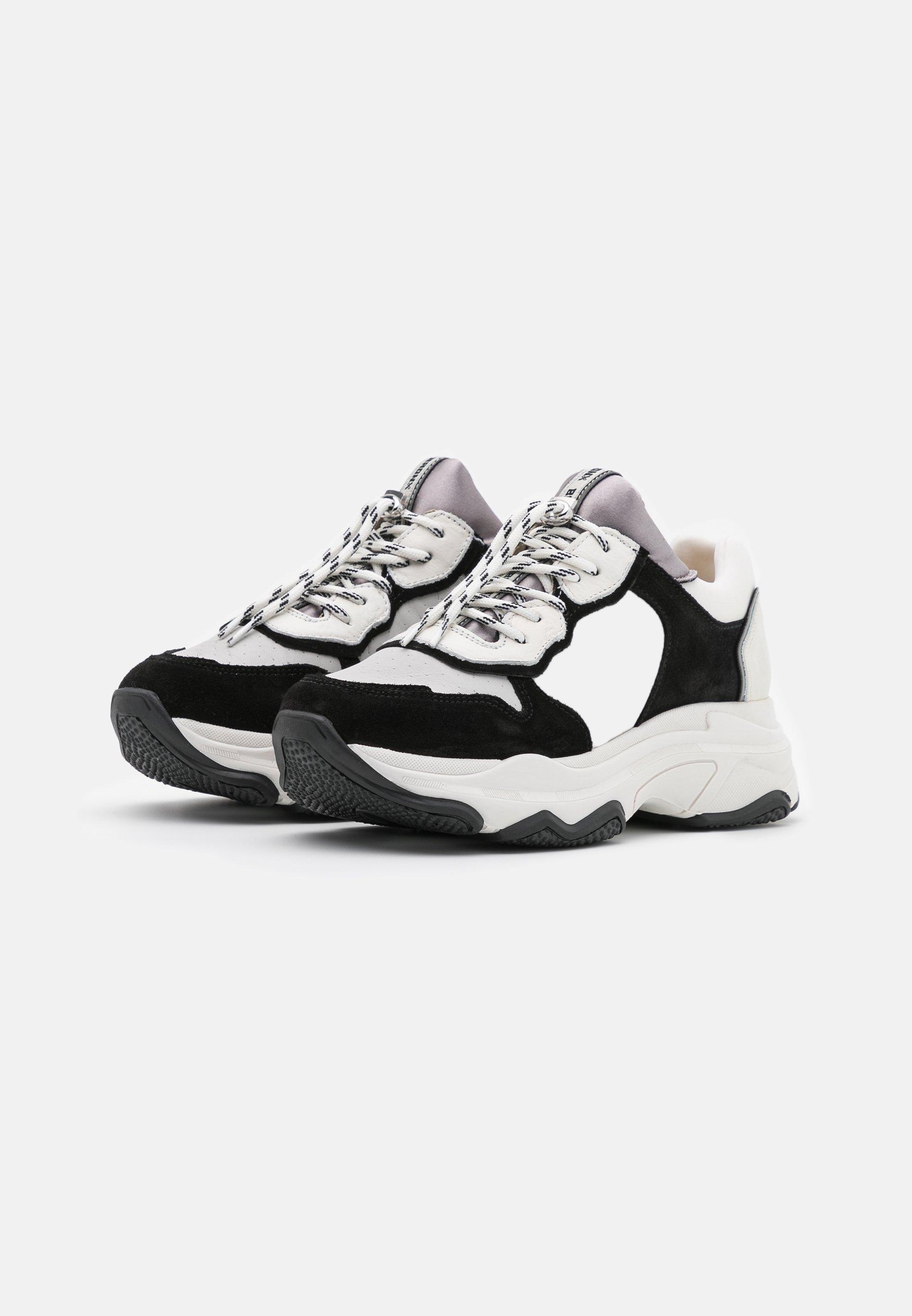 Bronx BAISLEY Sneaker low white/black/weiß