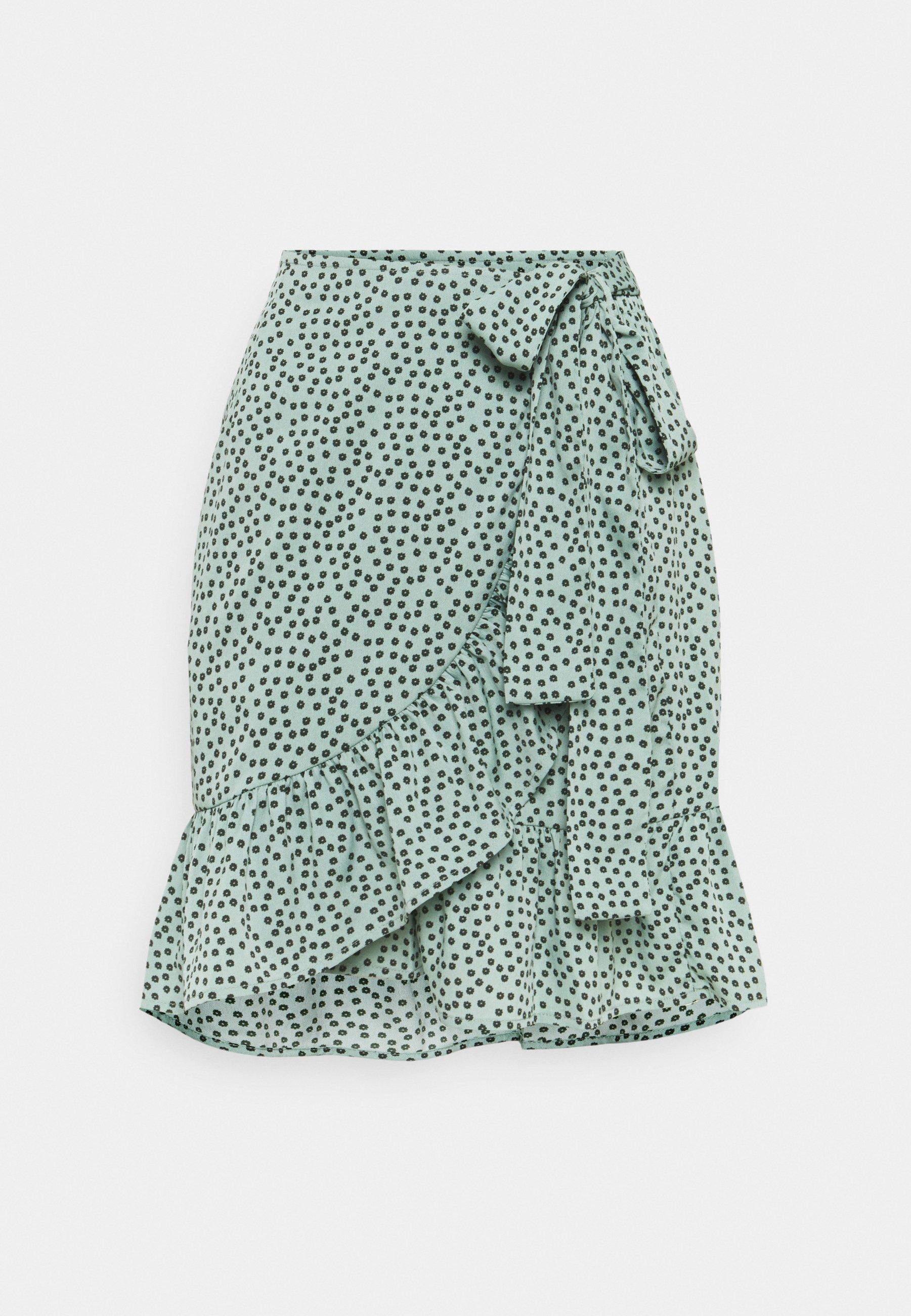 Women ONLOLIVIA WRAP SKIRT - Wrap skirt