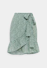 ONLOLIVIA WRAP SKIRT - Wrap skirt - chinois green