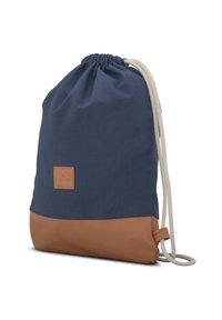 Johnny Urban - TURNBEUTEL LUKE - Sports bag - blue/brown - 1