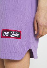 FUBU - VARSITY BASEBALL DRESS - Jersey dress - purple - 4