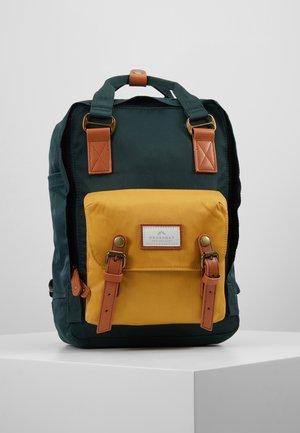 MACAROON UNISEX - Rucksack - slate green/yellow