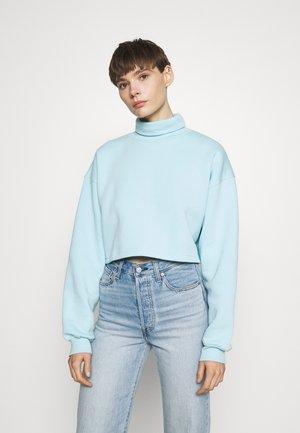 NEW SEASON CROPPED - Sweatshirt - powder blue