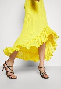 Just Cavalli - Společenské šaty - yellow - 5
