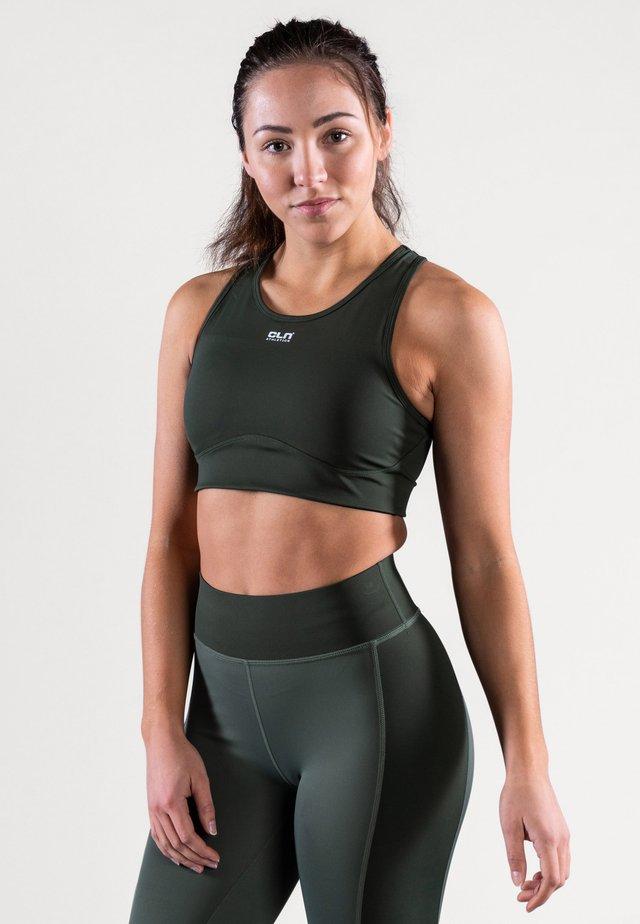 INTENSE - Brassières de sport à maintien normal - dark green