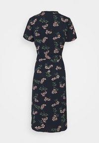 Vero Moda Petite - VMSAGA CALF SHIRT DRESS - Shirt dress - navy blazer/nellie - 1