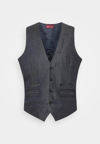 TUXEDO WAISTCOAT - Waistcoat - raw denim
