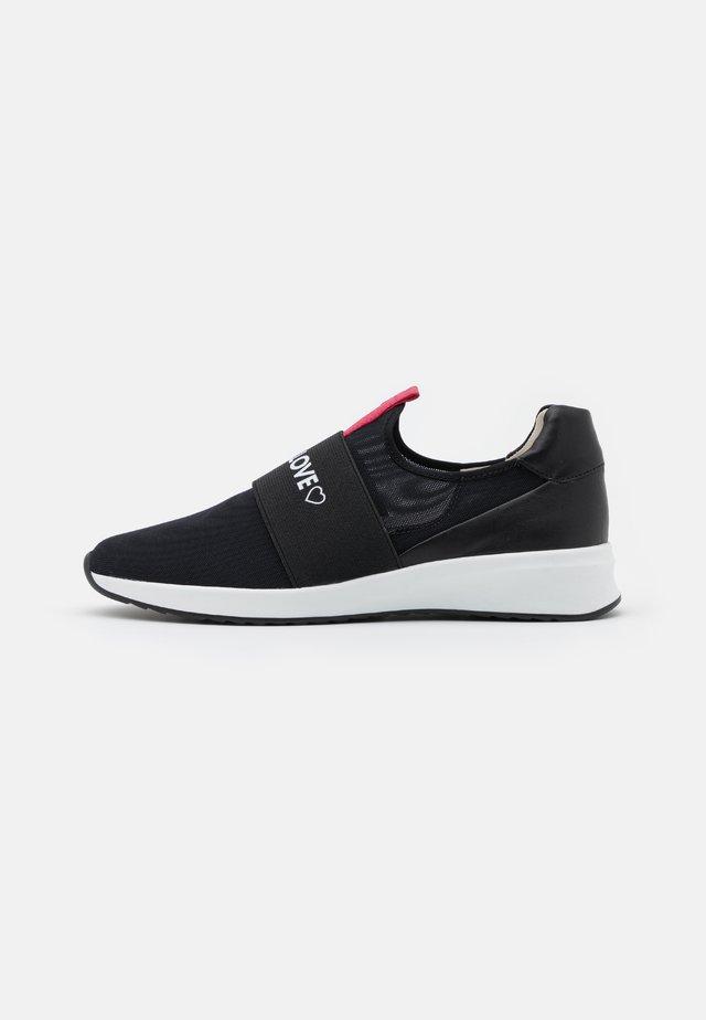 LOVE - Sneakers laag - schwarz