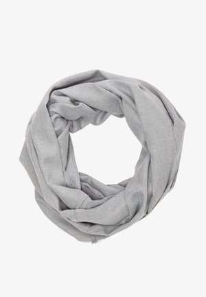 LOOP MIT WEBSTRUKTUR - Snood - light grey melange