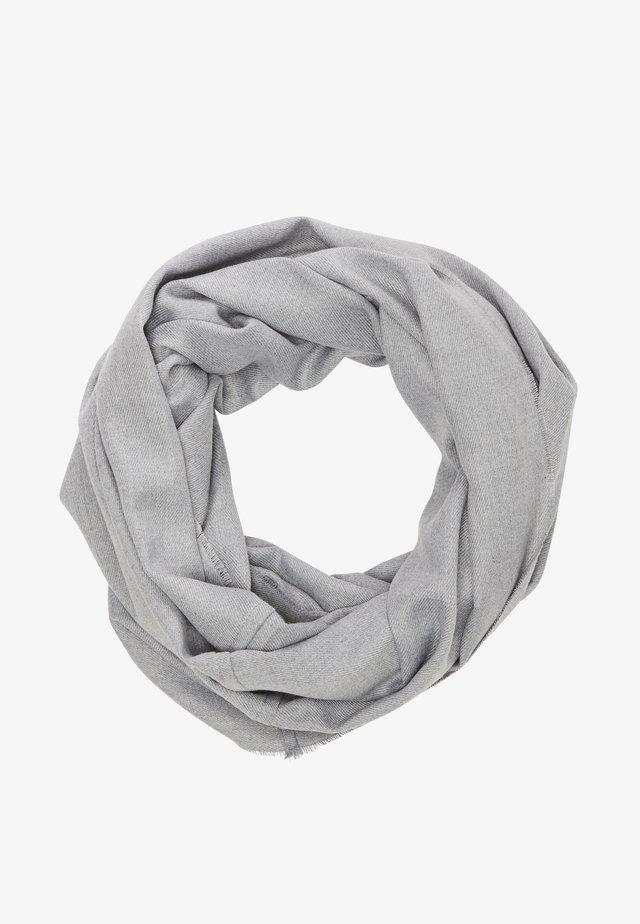 LOOP MIT WEBSTRUKTUR - Snood - light grey melange