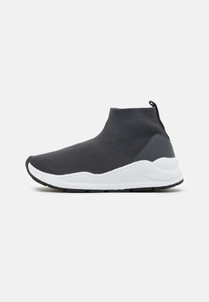TRAINER - High-top trainers - rabbit grey