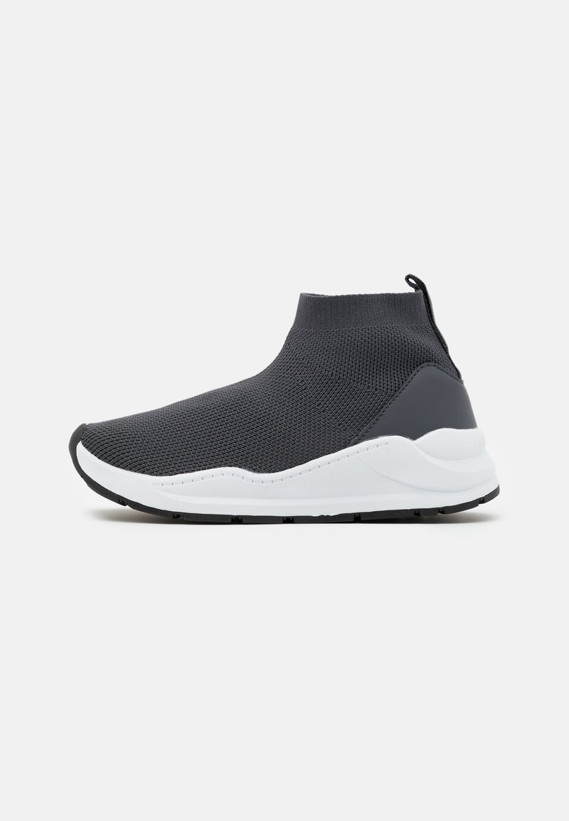 Cotton On - TRAINER - High-top trainers - rabbit grey