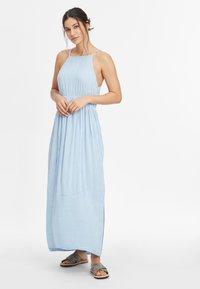 O'Neill - Maxi dress - blue with white - 1