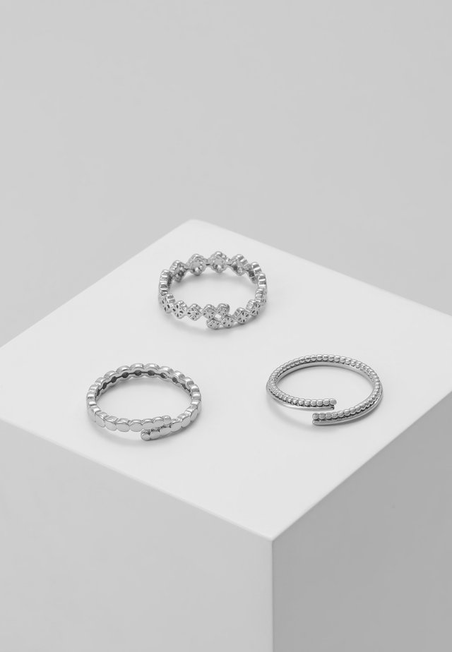 JOY 3PACK - Bague - silver-coloured