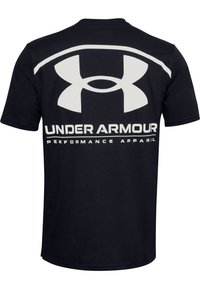 Under Armour - PERFORMANCE BIG LOGO - Sports shirt - black - 1