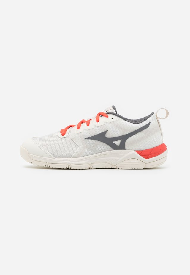 WAVE SUPERSONIC 2 - Chaussures de volley - snowwhite/shade/fusion