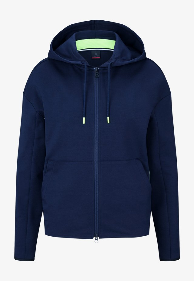 ERLA - veste en sweat zippée - navy blau