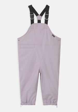 PRINCE OF FOXES UNISEX - Rain trousers - lilac orchid