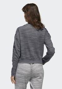 adidas Performance - Sweatshirt - dark grey heather/white - 1