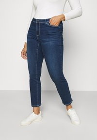 Vero Moda Curve - VMMANYA  - Jeans Skinny Fit - dark blue denim - 0