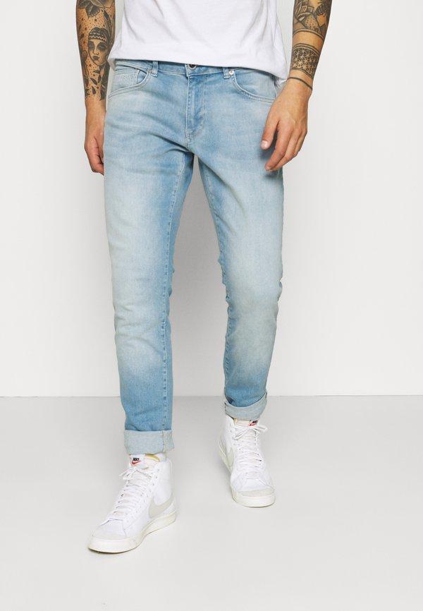 Cars Jeans BATES - Jeansy Slim Fit - light-blue denim/moonwashed Odzież Męska VJGV