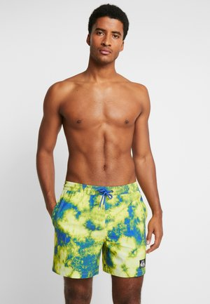 OUT THERE VOLLEY  - Swimming shorts - yellow/blue