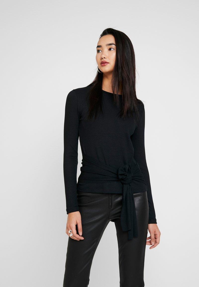 Zign - Camiseta de manga larga - black