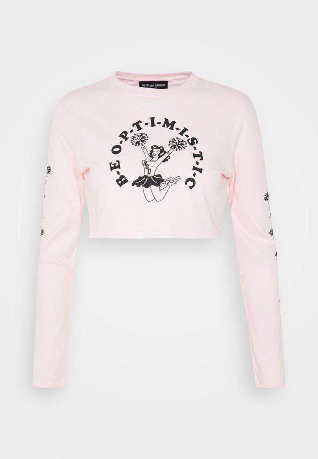 CHEER - Topper langermet - pink