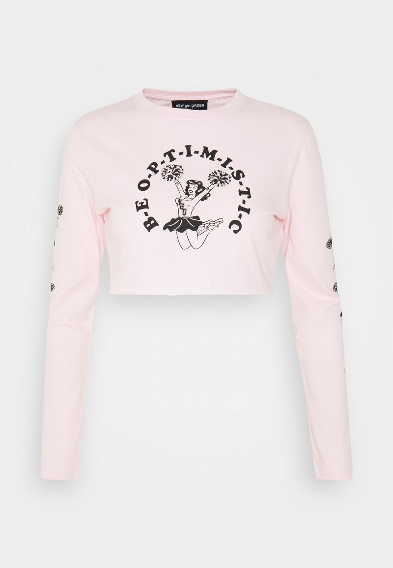 NEW girl ORDER - CHEER - T-shirt à manches longues - pink