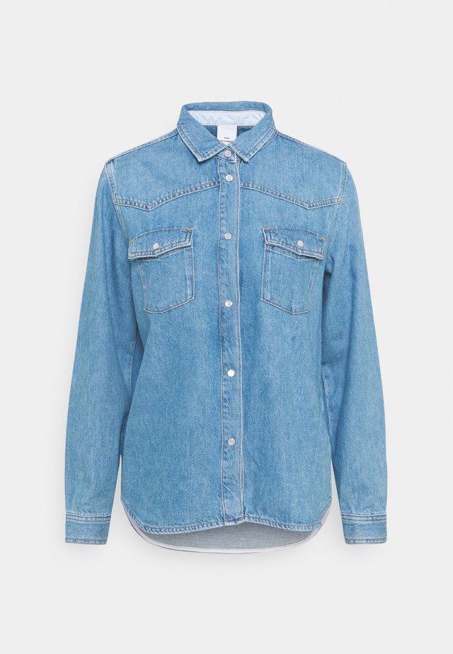 PERNILLA - Overhemdblouse - denim blue