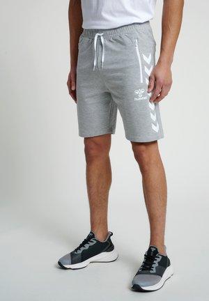 Krótkie spodenki sportowe - grey melange