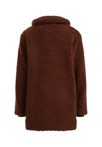 WE Fashion - TEDDY  - Winter coat - dark brown - 4