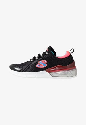 SKECH-AIR SPARKLE - Trainers - black/neon coral/turquoise