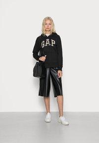 GAP - NOVELTY - Sweater met rits - black - 1