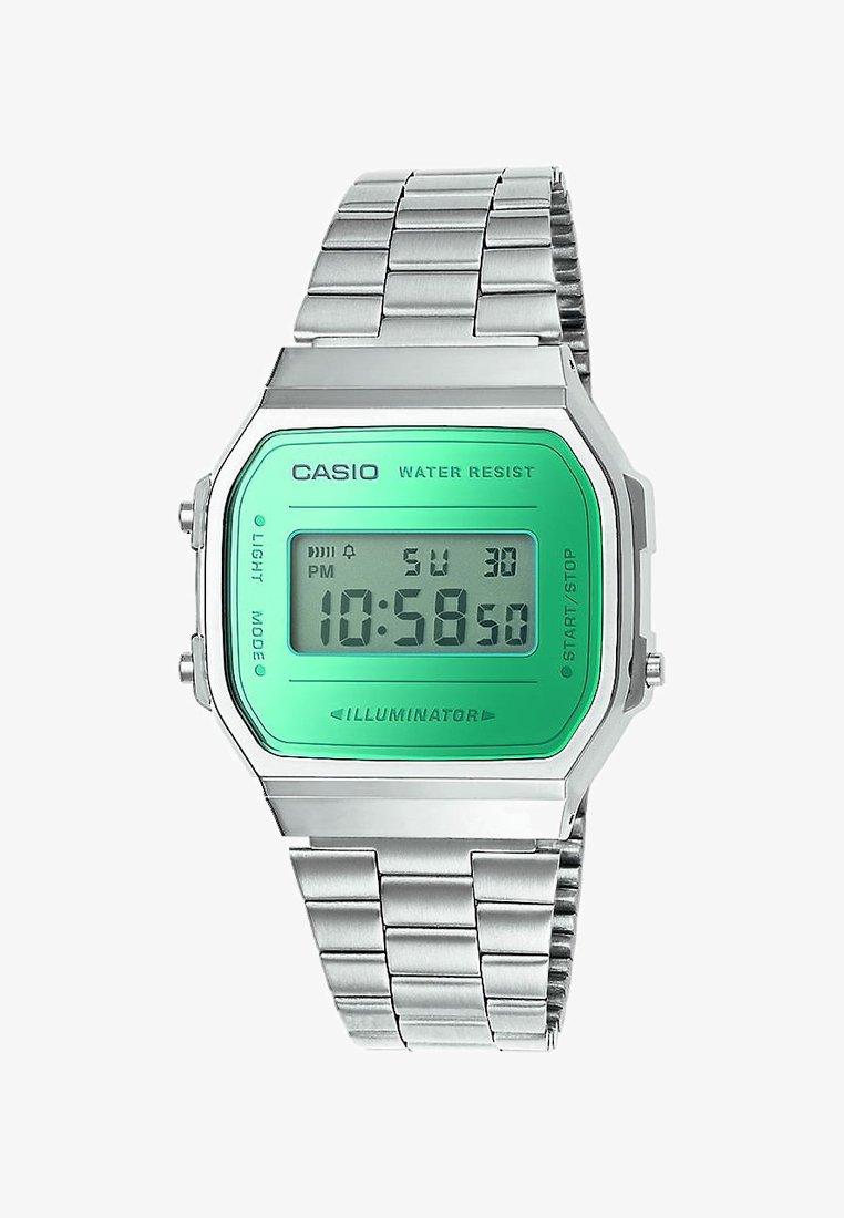 Casio - Digitaalikello - silver-coloured/green