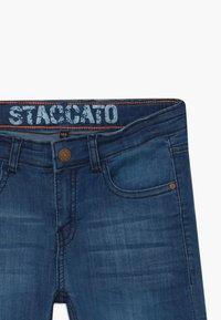 Staccato - BERMUDAS TEENAGER - Džínové kraťasy - blue denim - 4