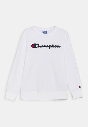 LOGO CREWNECK UNISEX - Sweater - white