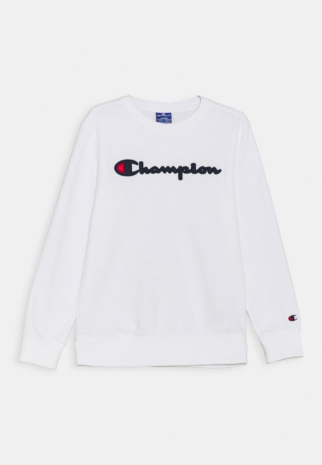 LOGO CREWNECK UNISEX - Sweatshirt - white