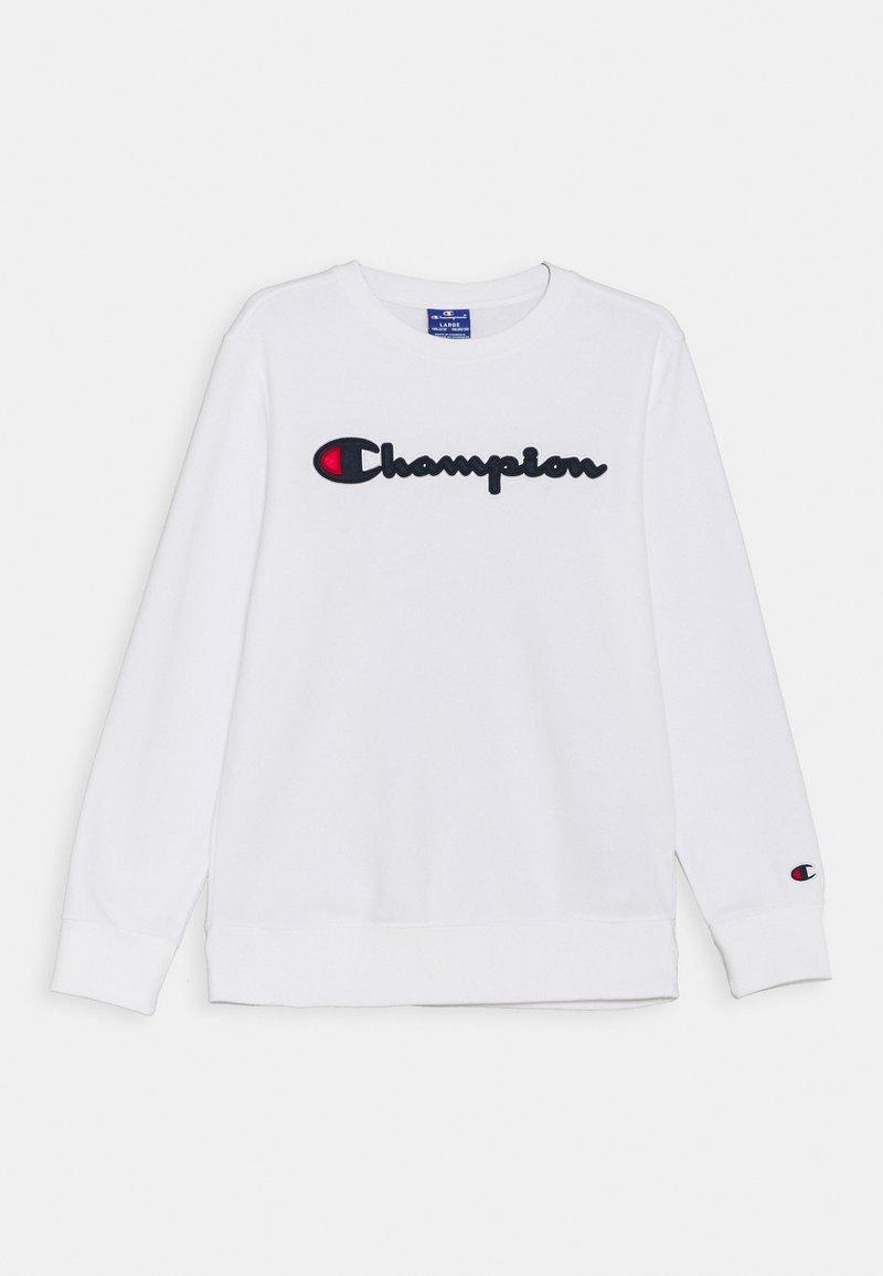 Champion Rochester - LOGO CREWNECK UNISEX - Sweatshirt - white
