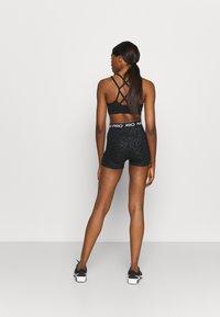 Nike Performance - Leggings - black/white - 2