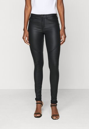 ONLNEW ROYAL BIKER - Pantalones - black