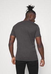 G-Star - BASE 2 PACK - T-shirt basic - lt shadow - 2