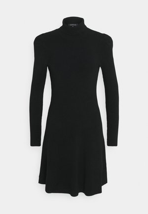 NICOLE PUFF SLEEVE DRESS - Jumper dress - black