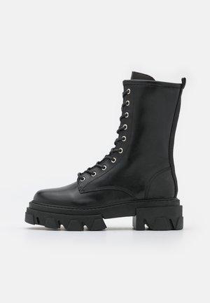 ANTONELLA - Lace-up boots - black