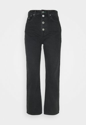HARPER ANKLE - Straight leg jeans - black