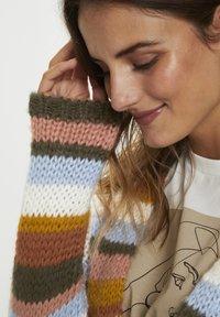 Kaffe - KAMERLA - Cardigan - multi color stripe - 4